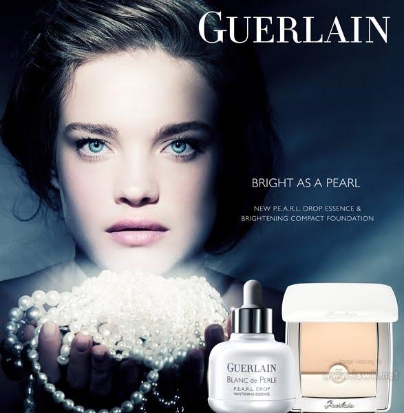 ad campaigns guerlain blanc de perle ss 2012 angelical natalia vodianova anv. Black Bedroom Furniture Sets. Home Design Ideas