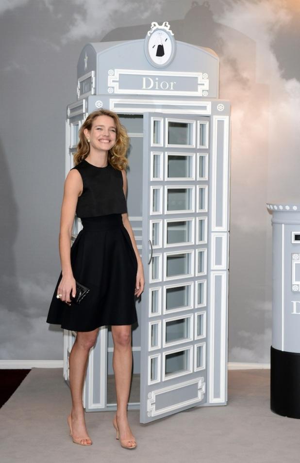 Natalia Vodianova Launches Dior At Harrods