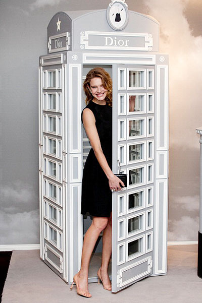 Natalia Vodianova Launches Dior At Harrods