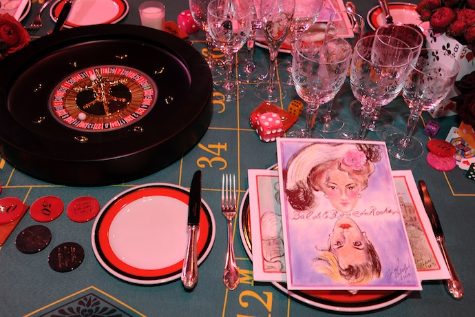 'Bal De La Rose Du Rocher' In Aid Of The Fondation Princess Grace - 150th Anniversary Of The SBM