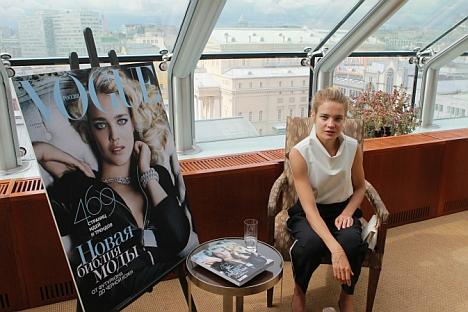 Интервью с Натальей Водяновой
