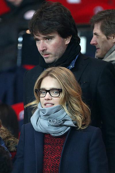 Celebrities attending PSG-Montpellier - Paris