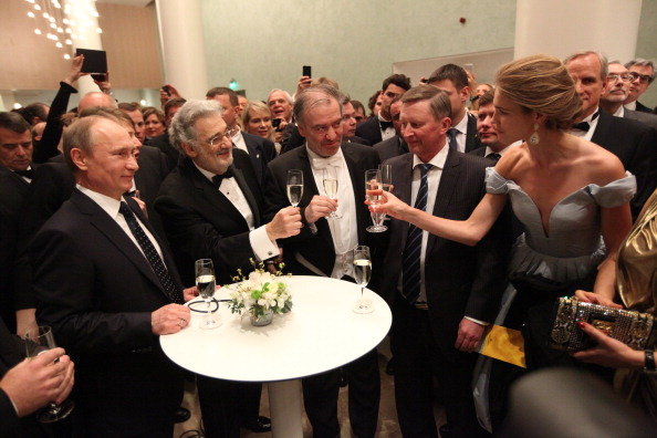 The Opening Of The Mariinsky II Theater
