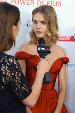 Natalia Vodianova hosts a star studded charity dinner for the Naked Heart Foundation and Film Aid