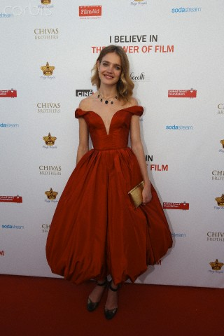 Natalia Vodianova hosts celebrity guests at the Plage Royale in Cannes for Film Aid