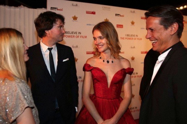 Natalia Vodianova hosts a charity ball in aid of Film Aid at the Cannes film festival
