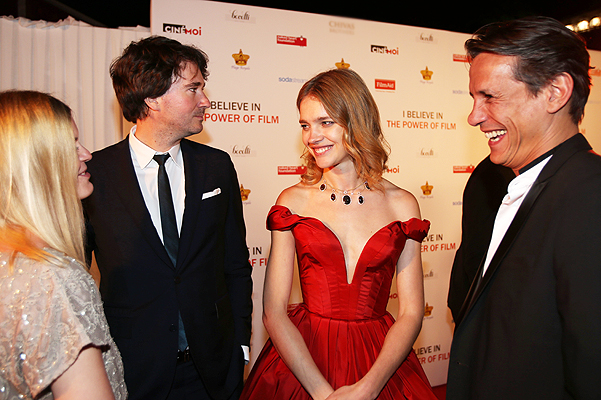 Natalia Vodianova hosts a charity ball in aid of Film Aid at the Cannes film festival.
