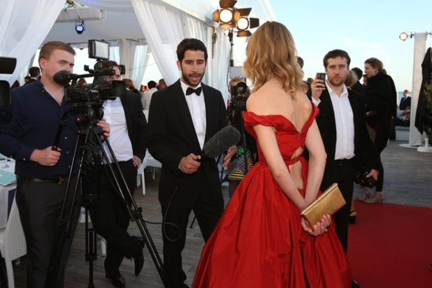 Natalia Vodianova hosts a charity dinner at the Plage Royale in Cannes for Film Aid