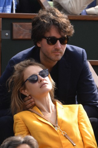 France - Celebrities At French Open 2013 - Day 7