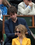 Celebrities At French Open 2013 - Day 7