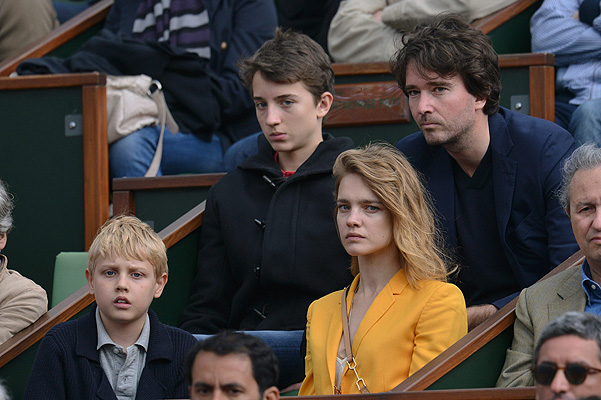 Celebs at the French Open 2013 held at Roland Garros stadium