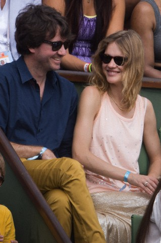 France - Celebrities At French Open 2013 - Day Fourteen
