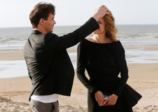 Jonathan Rhys Meyer and Natalia Vodianova at the Cabourg Film Festival