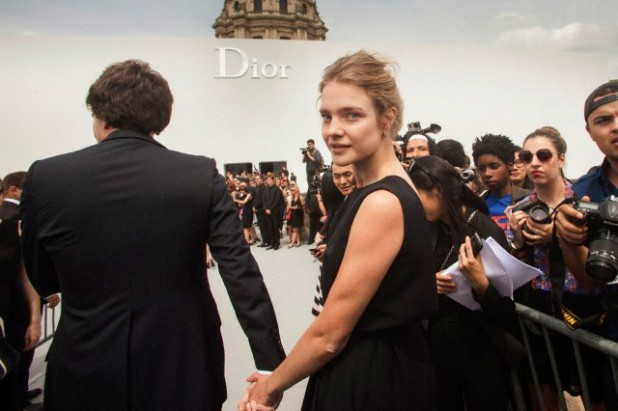 Paris Fashion Dior Arrivals