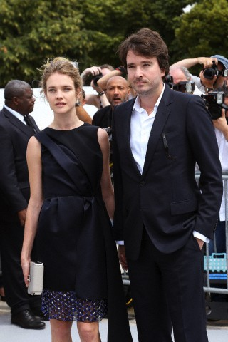 Celebrities attending Dior Haute Couture Autumn Winter 2013-2014 in Paris