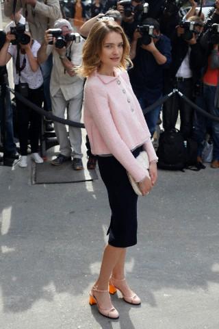 Paris Fashion Chanel Arrivals