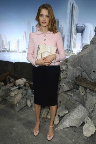 The Chanel fashion show during Paris Fashion Week