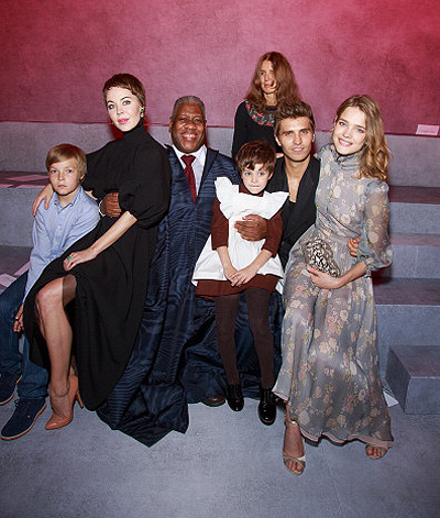 Ulyana Sergeenko: Front Row - Paris Fashion Week Haute-Couture F/W 2013-2014