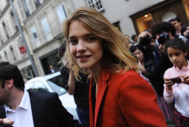 Celebrities attend Valentino's runway show in Paris