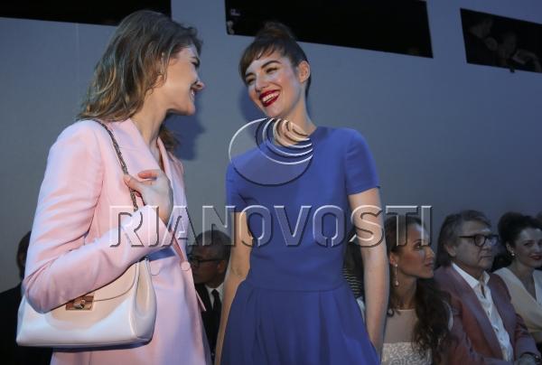 Показ модного дома Dior на Красной площади